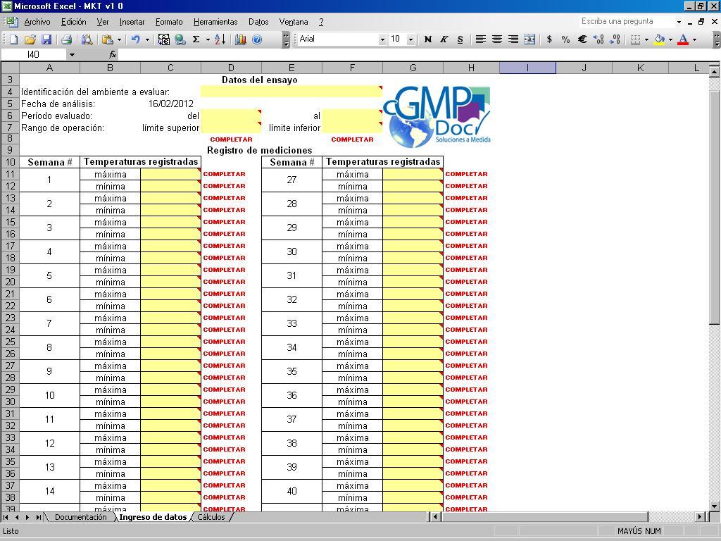 BLOG para cGMPdoc.com » Validación de planillas excel