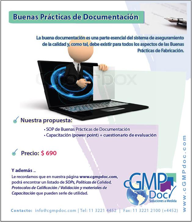 BLOG para cGMPdoc.com » Buenas Prácticas de Documentación